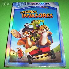 VECINOS INVASORES DVD NUEVO Y PRECINTADO SLIPCOVER