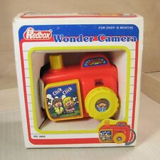 Vintage Redbox Play Wonder Camera Click Sound & Picture Viewer With Box No. 2053