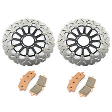 Front Brake Discs Rotors Pads For Ducati 1098 1100 S 07 08 1198 Panigale 1199 R