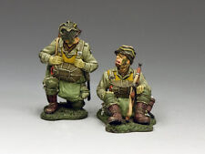 DD266-2 Kneeling & Sitting Paratroopers (101st Airborne) by King & Country