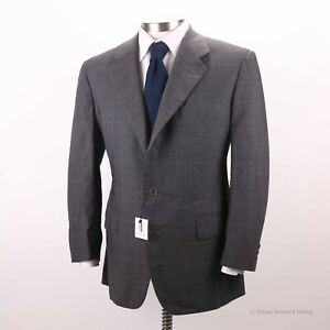 Nice! LUCIANO BARBERA SARTORIALE / St. Andrews Gray Check Sport Coat ~39-40~