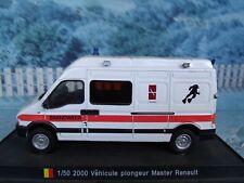 1/50  DelPrado 2000 Vehicule plongeur Master Renault Germany  FIRE