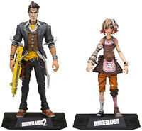Borderlands ~ HANDSOME JACK & TINY TINA ACTION FIGURE SET ~ McFarlane Toys