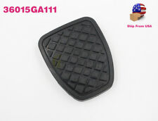 GENUINE OEM NEW BRAKE & CLUTCH PEDAL PAD RUBBER COVER FOR SUBARU FORESTER MT