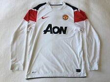 Nike Manchester United 2010-2012 Player Issue Long Sleeve  Away Jersey Size L