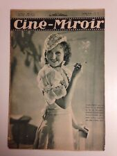 CINE MIROIR N°371 13 MAI 1932 COUV LILIAN HARVEY