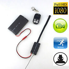 1080P HD Spy Hidden Camera Camcorder Mini DV DVR DIY Module Remote Control Happy