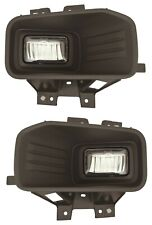 fit FORD F150 PICK UP 2018-2019 LED FOG LIGHT ASSEMBLY DRIVING LAMP BUMPER PAIR