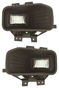 fit FORD F150 PICK UP 2018-2020 LED FOG LIGHT ASSEMBLY DRIVING LAMP BUMPER PAIR