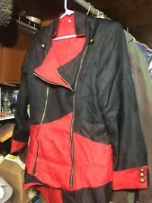 Assassins Creed Jacket STYLE Coat With Hoodie Costume - XXL