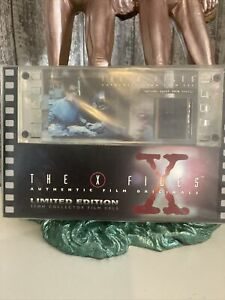 The X Files Authentic 35 Mm Film Cel Limited Edition Special Agent Dana Scully