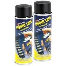 Performix Liquid Tape Electrical 6 Oz Spray Insulation 2 Cans Black