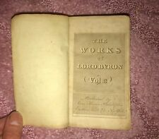 The Works of Lord Byron 1818, Childe Harold's Pilgrimage