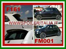 MINIGONNE FIAT 500 REP.ABARTH +SPOILER GREZZO ABARTH LOOK  F161G+FM001-SIM001-a