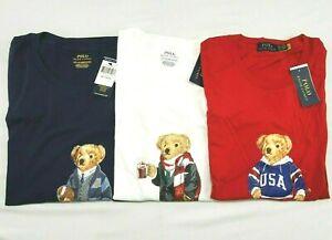 Polo Ralph Lauren Mens Polo Bear T Shirt Ltd Edition Big & Tall 2XLT/3XLT/4XLT
