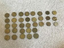 Chuck E. Cheese 28 Tokens 1999 to 1999 plus 6 other tokens