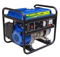 NEW Sigma Gas Engine Portable Generator 2000 Watts 4 Stroke 2 GALLON TANK EPA