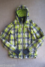 Lululemon Run Track & Field Jacket in Citron Coal Checkered Plaid 4