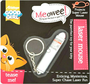 LASER MOUSE - Armitage Pet Care Good Girl Cat Toys bp Meowee Super Mice Display