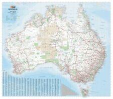 Hema Maps Laminated Australia Mega Map - 1686x1481mm