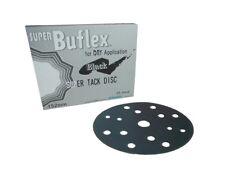 25x Kovax Buflex Dry Black Scheiben 15 Loch 152mm Trockenschleifen P3000