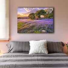 Lavender Stretched Canvas Prints Framed Wall Art Home Decor Painting Gift IV