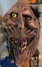 Monster Mask Smoking Cigar Long Black Hair by Mario Chiodo NEW w/ Tag