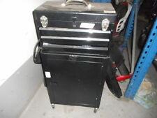Werkstadtwagen in Schwarz Metall höhe 90 cm breite 30 cm idial für Garagen