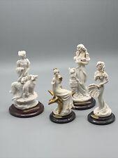 Beautiful Florence Giuseppe Armani Italy Signed Miniature Figurines