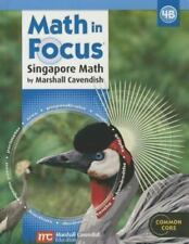 Math in Focus: Singapore Math: Student Edition, Book B Grade 4 2013 GREAT SOURCE