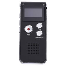 8GB LCD 650Hr Digital Audio Recorder Dictaphone MP3 Rechargeable Spy M6A3