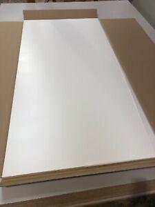 Matt White Furniture Panel 2000mm wide x 1000mm high x 18mm thickness