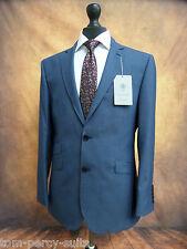Men's Alexandre Savile Row Blue Suit 40S W34 L29 SS6285