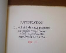 Very Rare 1 of 100 Belgian Philosophy, Synthese Theorie Des Quatre Etats, Theory
