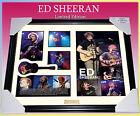 NEW! ED SHEERAN MUSIC MEMORABILIA SIGNED FRAMED LIMITED 499 w/ COA