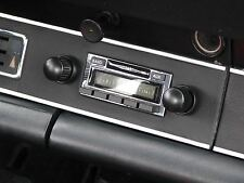 Early Porsche 911 912 NEW AM FM AUX iPOD iPhone & MP3 input Classic Stereo Radio