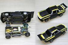 1970s Foreign TYCO BMW 3.0CSI Blk & Yellow Slot Car NOS