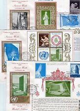3 Belege  -  Uno Besuch  - Paul 6. -  Oktober  1965  ( 30516 )