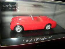 1:43 Starline Cisitalia 202 Spyder 1947 rot/red OVP