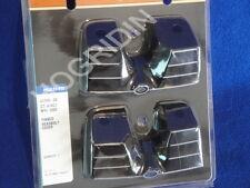 Harley twin cam touring softail dyna finned headbolt bridge spark plug cover set