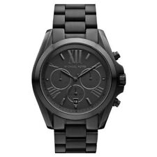 BRAND NEW Michael Kors Bradshaw Black Ion Unisex Watch MK5550