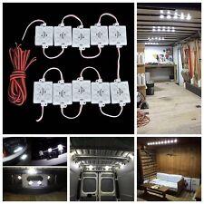 2000LM SAMSUNG led 40pcs Van Interior Light white Ceiling Boat Trailer Lorry 12V