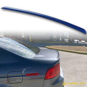 Fyralip Y22 Painted B-527P Abyss Blue Trunk Lip Spoiler For Acura TL 04-08