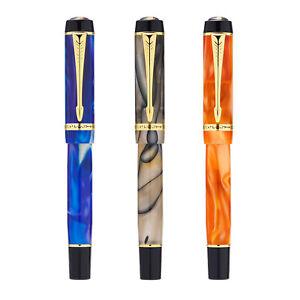 New Kaigelu 316 Mini Resin Fountain Pen, Iridium EF/ F/ M Nib Short Pocket Pen