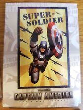 2011 Upper Deck Captain America The First Avenger #P-3 Poster Card Super Soldier