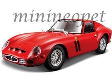 BBURAGO 18-26018 FERRARI 250 GTO 1/24 DIECAST MODEL CAR RED