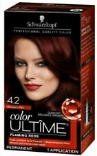 SCHWARZKOPF COLOR ULTIME - 4.2 MAHOGANY RED - PROFESSIONAL QUALITY COLOR