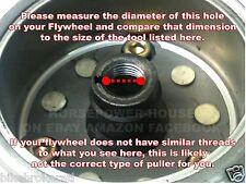 16mm PULLER to REMOVE FLYWHEEL STATOR @ HONDA CB250 NIGHTHAWK CMX250 REBEL 91-17