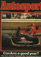 Autosport Dec 4th 1980 *Alfa Romeo GTV6 2.5 road test*