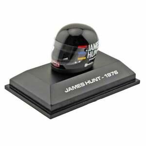 James Hunt Collection 1:8 Mini F1 Helmet World Champion 1976
